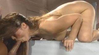 Asian chick and her wet pussy