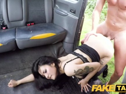 Fake Taxi Hot Japanese petite babe Rae Lil Black shows deepthroat skills
